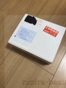 商品到着時の箱