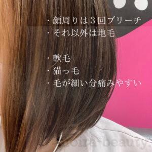 髪の毛スペック